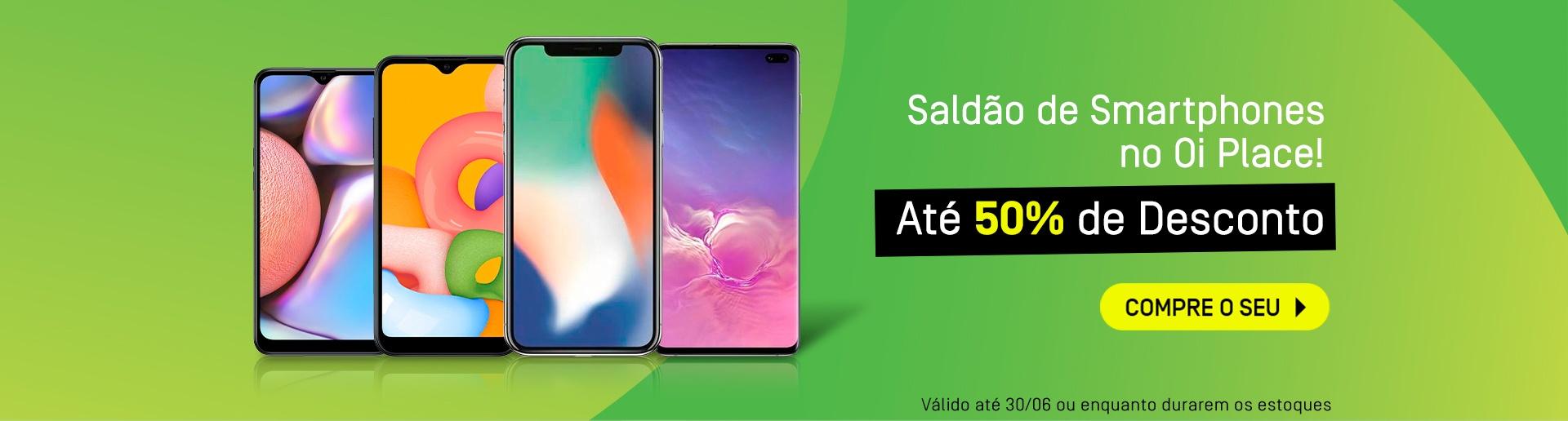 Banner desktop Saldão Smartphones 2.0