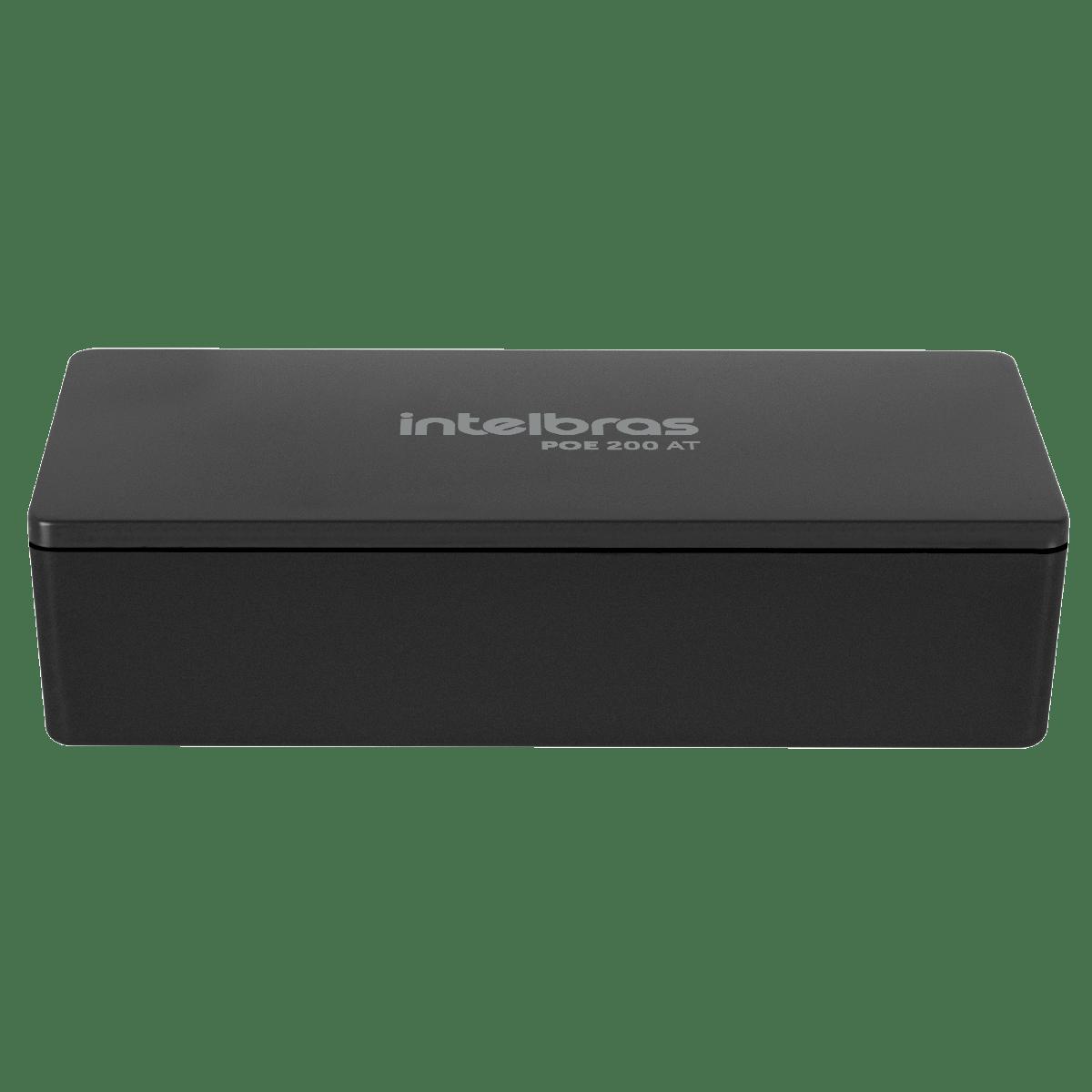 Injetor Conversor Intelbras PoE Ativo Gigabit Ethernet - PoE 200 AT