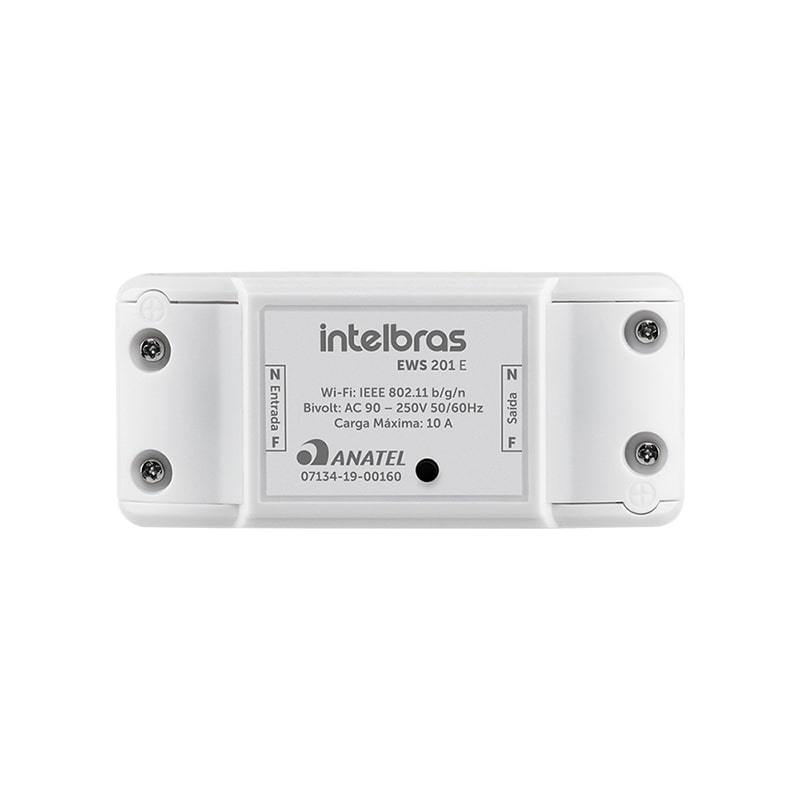Controlador Smart Wi-Fi para ambientes Intelbras EWS 201 E