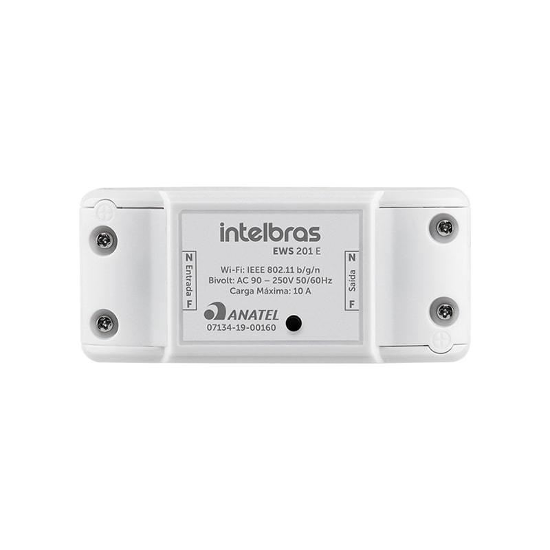 Interruptor Inteligente WiFi Intelbras EWS 201 E