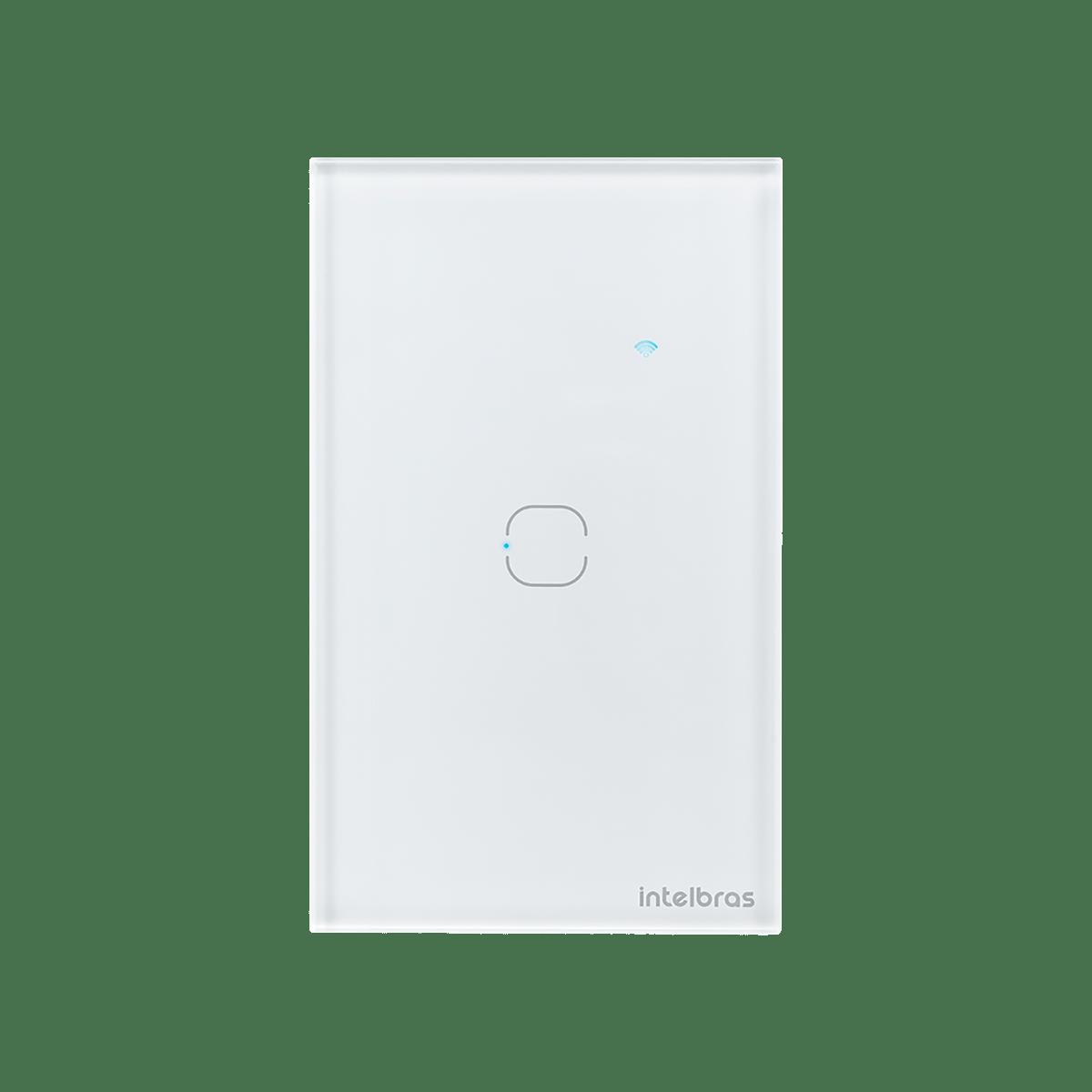 Interruptor Smart Wi-Fi Touch 1 tecla Branco Intelbras EWS 1001