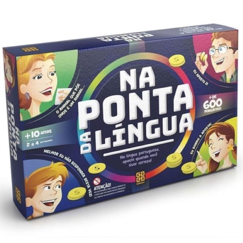 Jogo na Ponta da Língua Grow 1379 com 264 Cartas