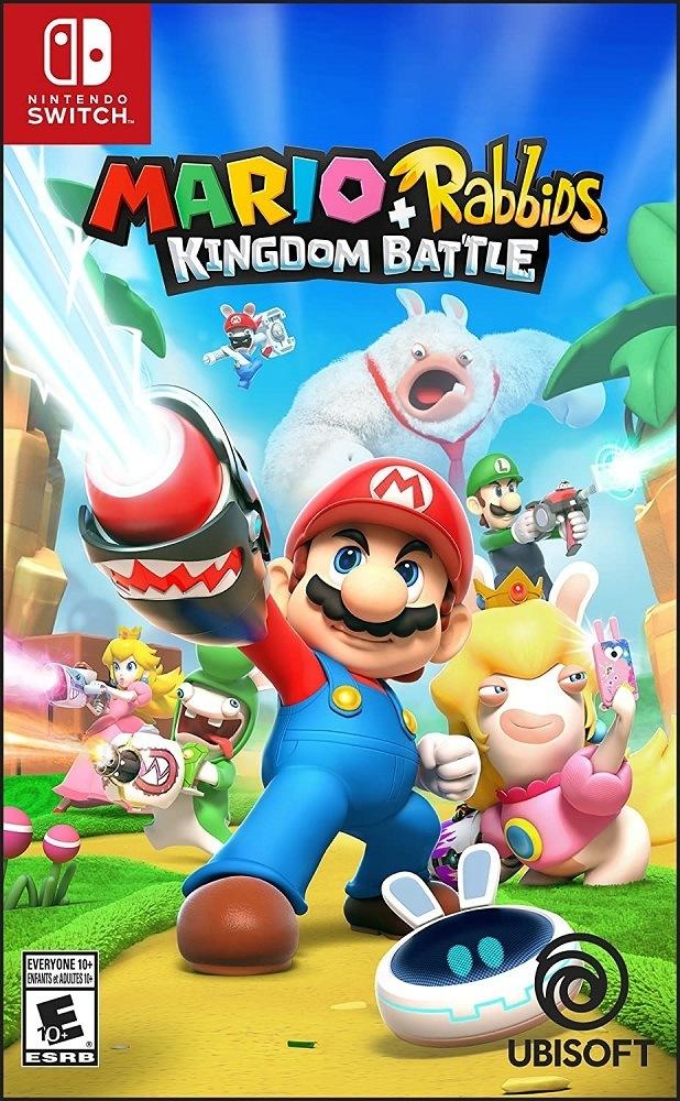 Jogo Nintendo Switch Mario Rabbids Kingdom Battle