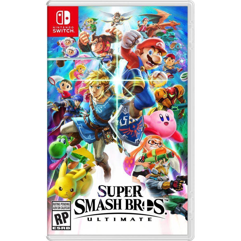 Jogo Nintendo Switch Super Smash Bros. Ultimate