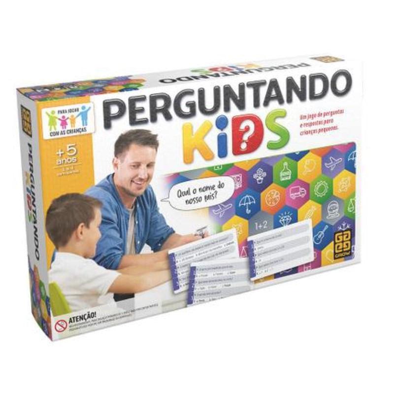 Jogo Perguntando Kids Grow 3960