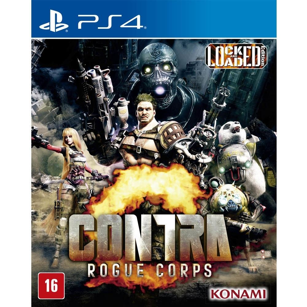 Jogo PS4 Contra Rogue Corps