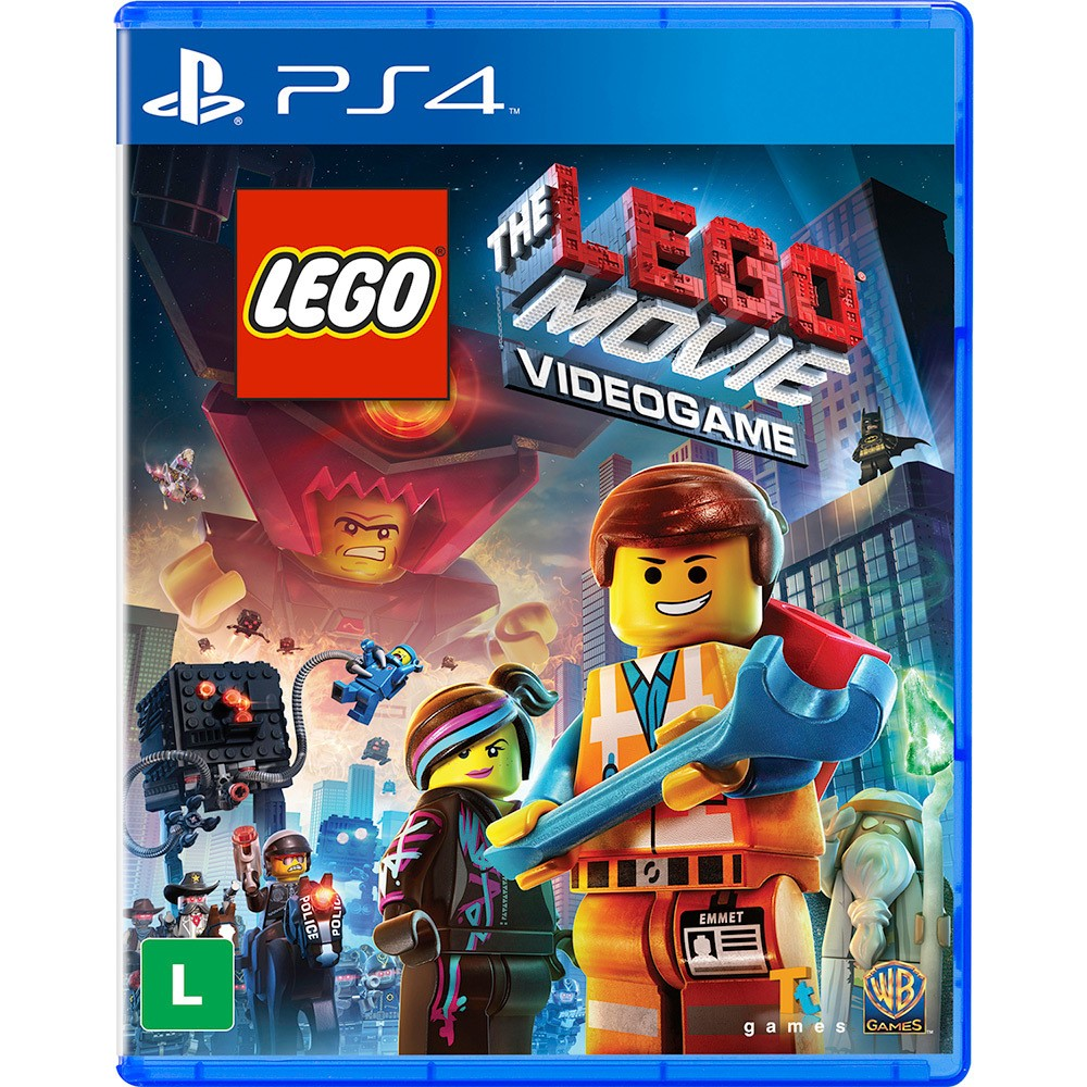 Jogo PS4 Lego Movie