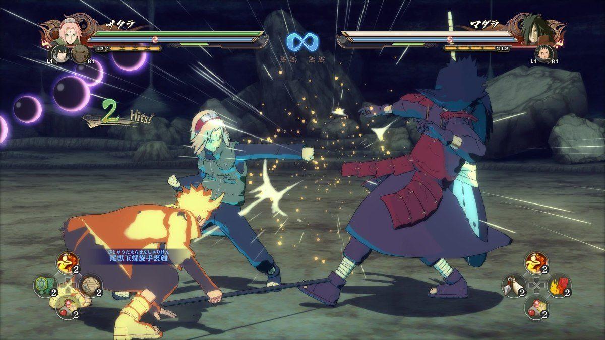 Jogo PS4 Naruto Shippuden Ultimate Ninja Storm 4