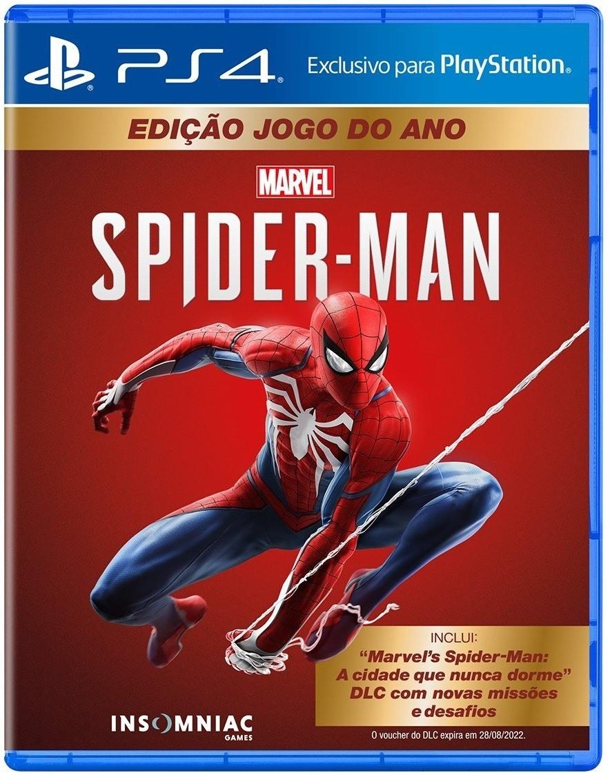 Jogo PS4 Spiderman