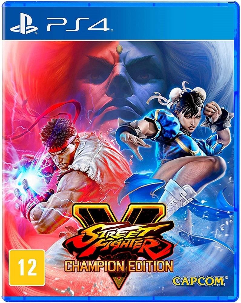 Jogo PS4 Street Fighter V Ed Champ Br