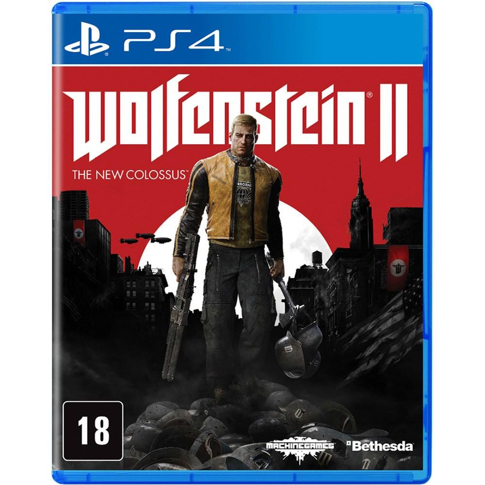 Jogo PS4 Usado Wolfenstein II The New Colossus