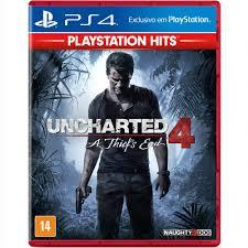 Jogo Uncharted 4: A Thief's End - PS4