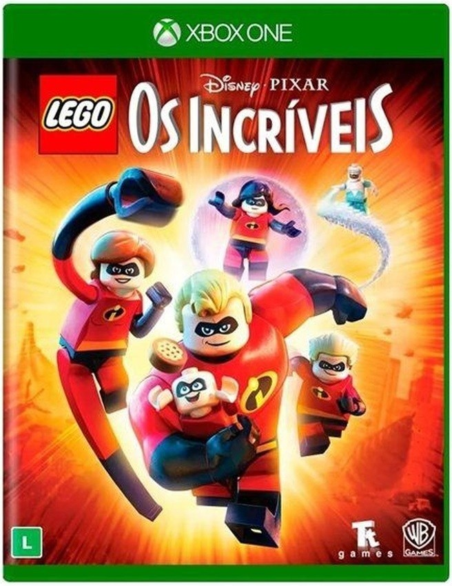 Jogo Xone Lego The Incredibles