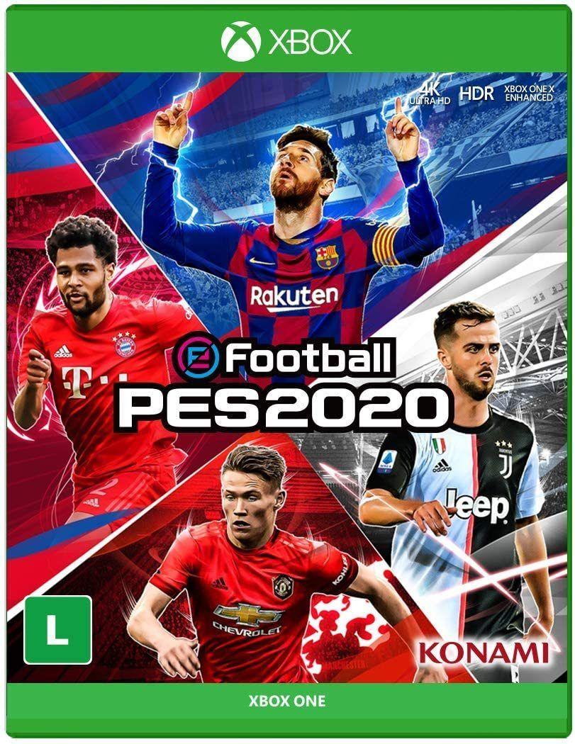Jogo Xone Pro Evolution Soccer (PES) 2020