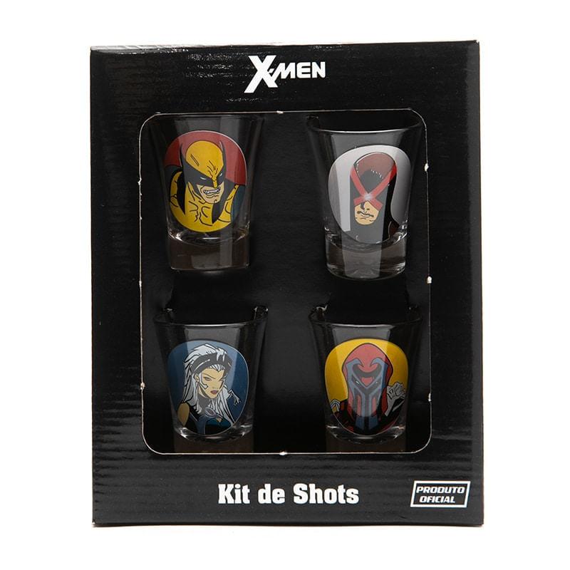 Kit Copos de Shot 50 ml X-Men