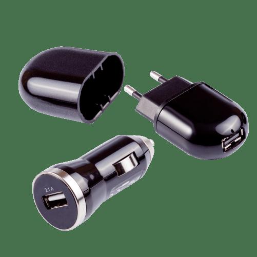 Adaptador Veicular USB + Fonte de Alimentação - Pixel TI
