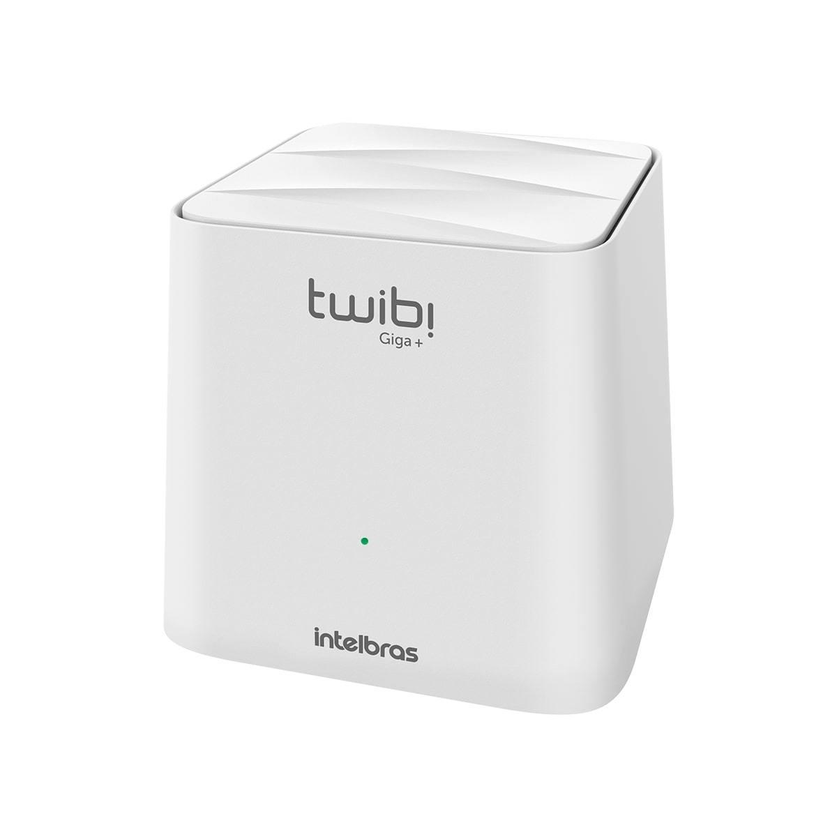 Kit Roteador Mesh Twibi Giga+ Intelbras