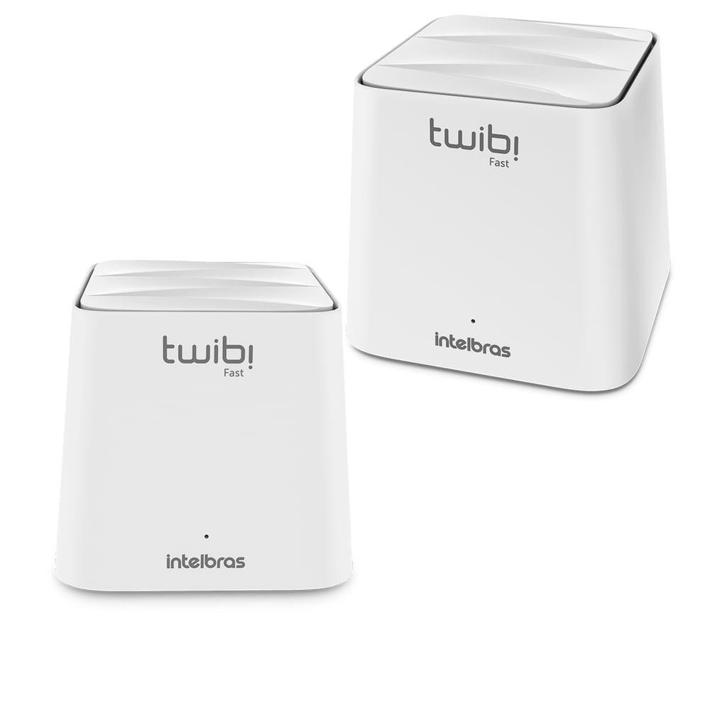 Kit Roteador Twibi Fast Wi-Fi 5 Mesh Intelbras