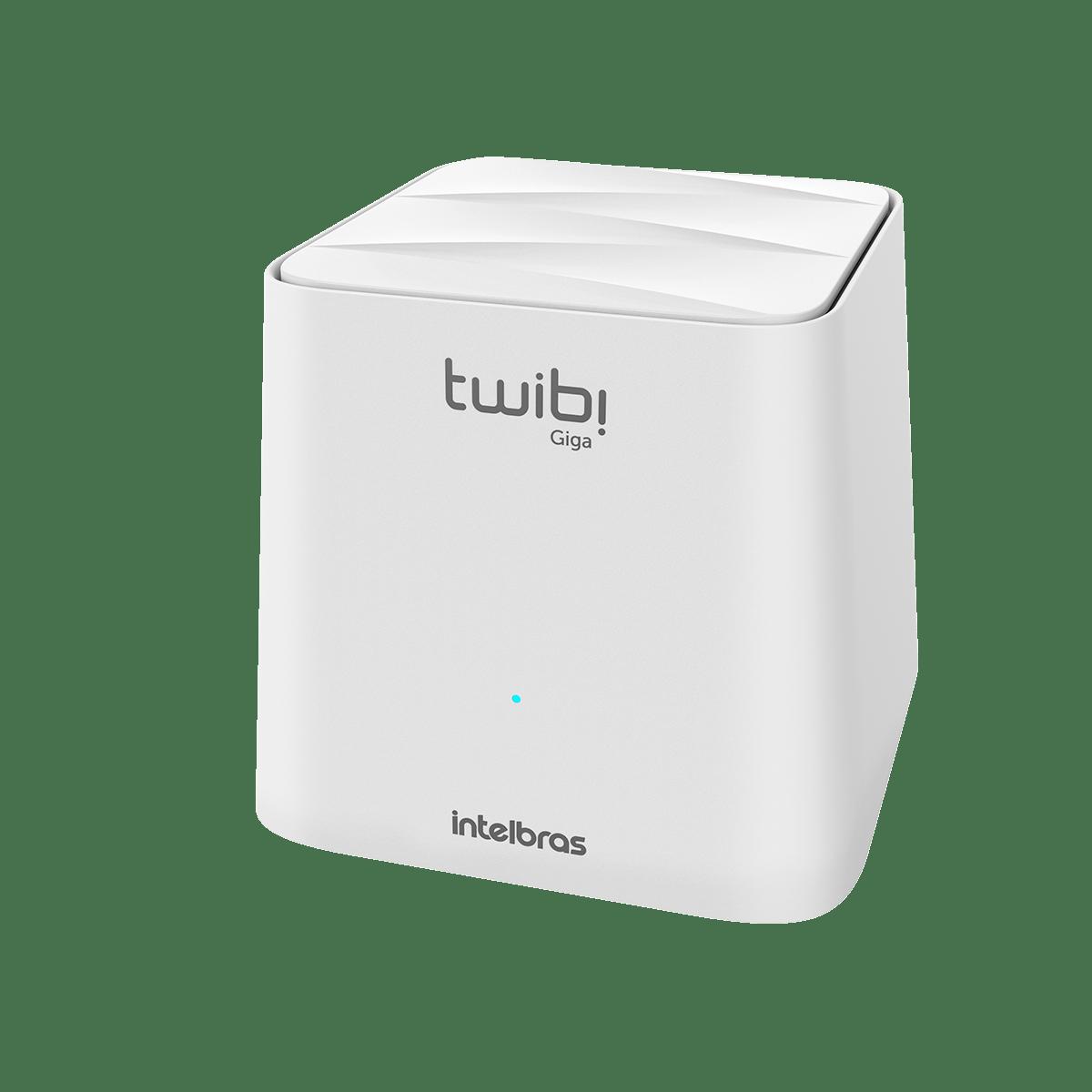 Kit Roteador Twibi Giga Intelbras