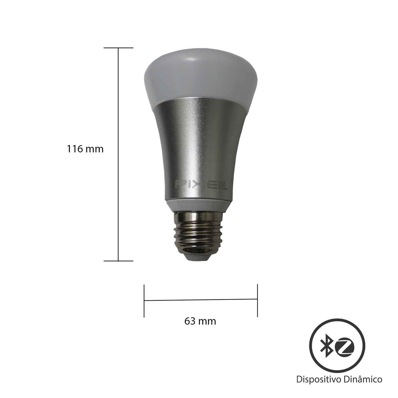 Lâmpada Inteligente Bluetooth - Pixel TI - C009LAMP