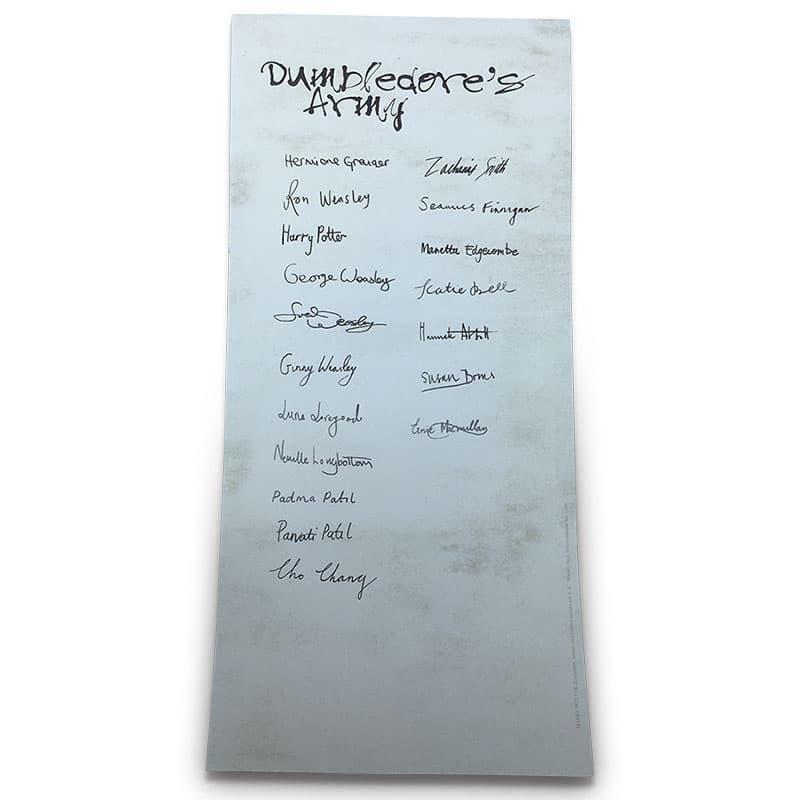Lista Armada de Dumbledore (Réplica)