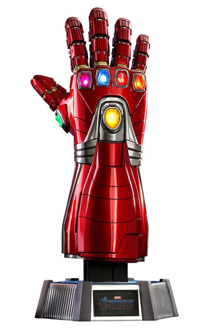 Manopla Nano Tech - Avengers:End Game - Life Size - Hot Toys
