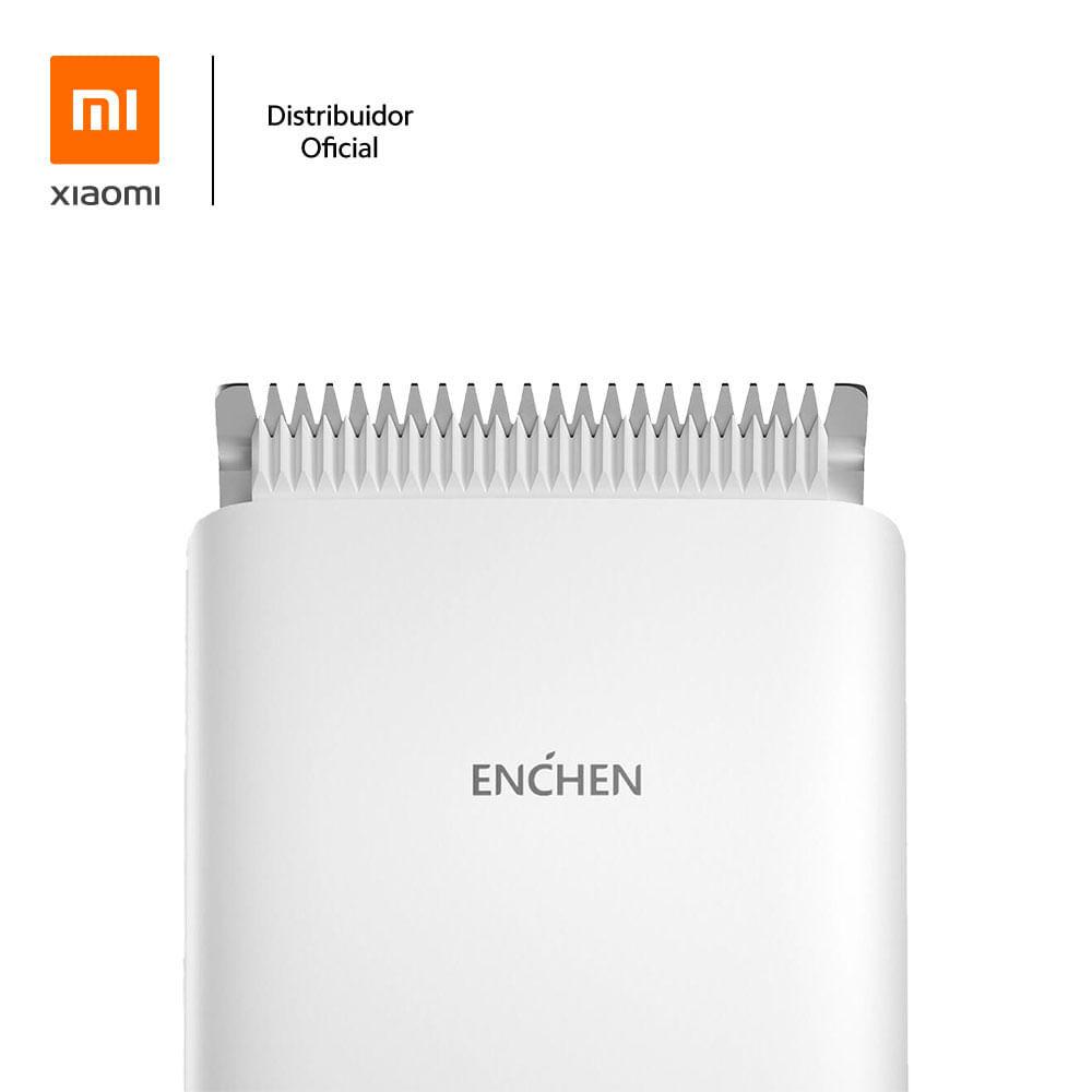 Máquina aparador de pelos com bateria interna ENCHEN Boost, branco