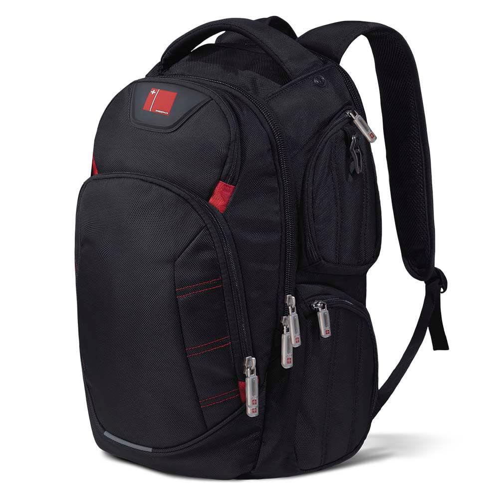 Mochila Multilaser Swisspack Large Preta Até 15.6 Pol. - BO410