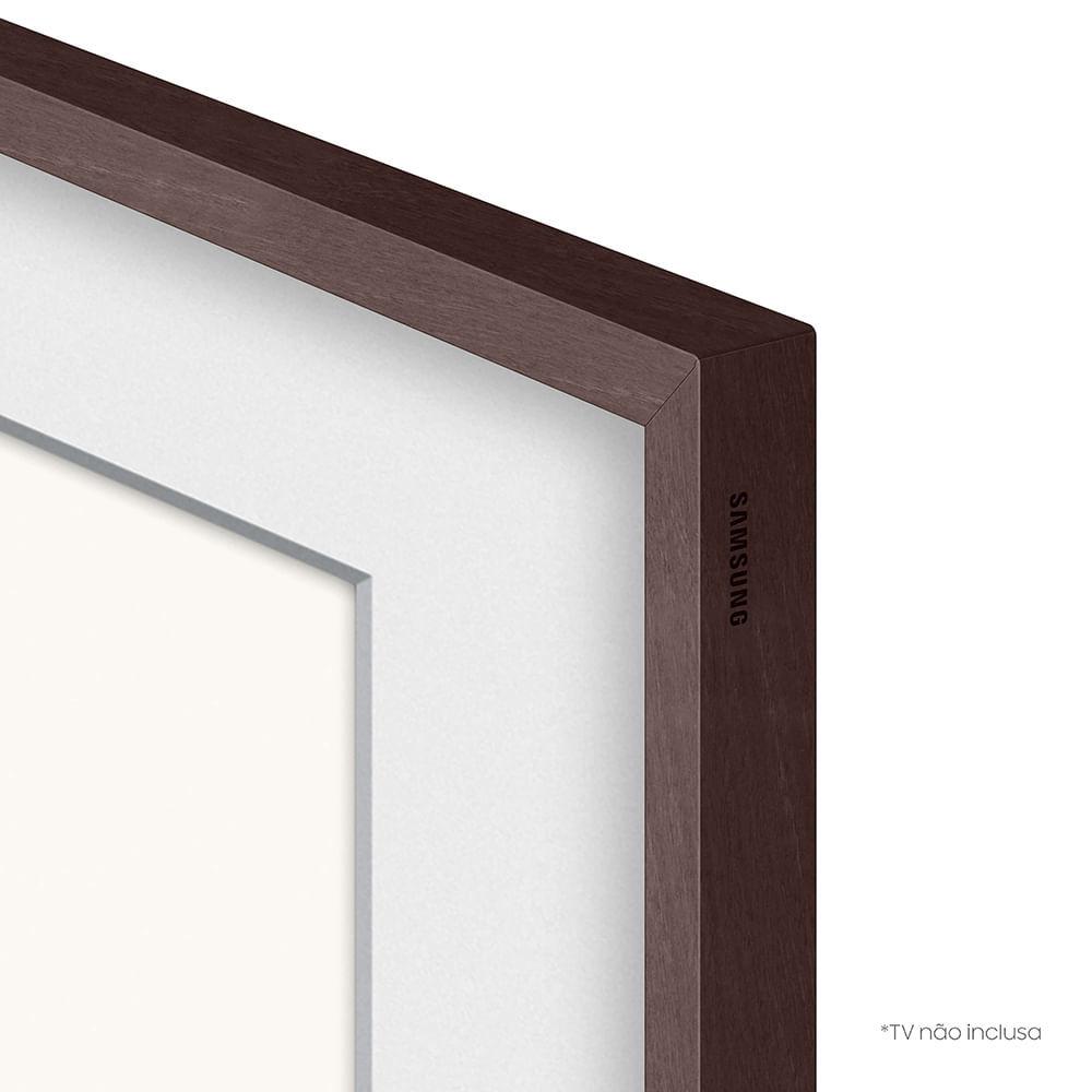 """Moldura Samsung Para Smart TV 50"""" The Frame 2021 Marrom"""