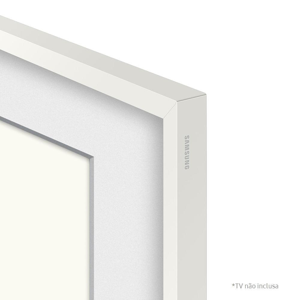 """Moldura Samsung Para Smart TV 55"""" The Frame 2021 Branco"""