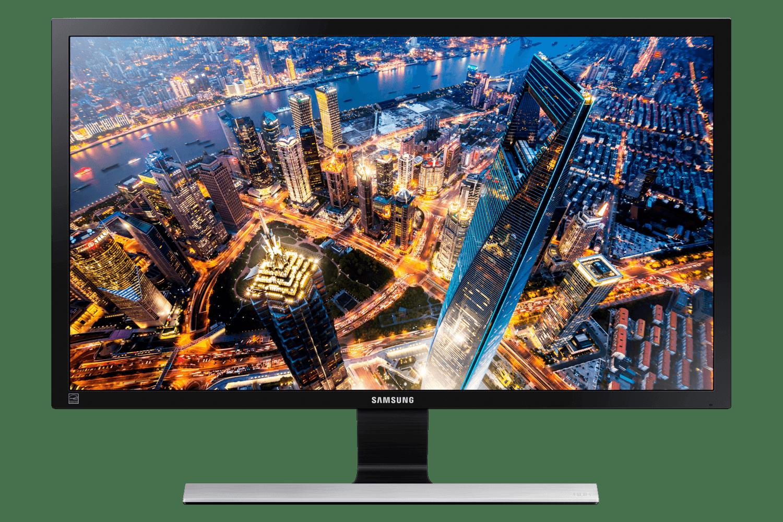 """Monitor 4k Samsung 28"""" U28E590 - 1MS, 60HZ, HDMI(2x), DP e Entrada para Headphone"""