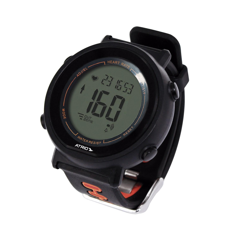 Monitor Cardíaco com Cinta Fortius com Contador de Calorias Cronômetro Alarme Preto Atrio - ES049