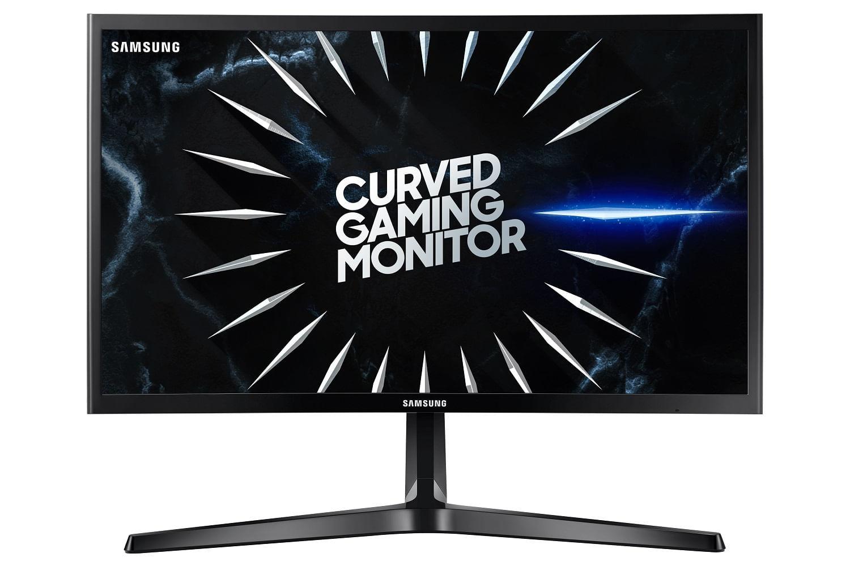 "Monitor Gamer Curvo Samsung 24"", FHD, 144 Hz,HDMI, DP, Freesync, Preto, Série CRG50"