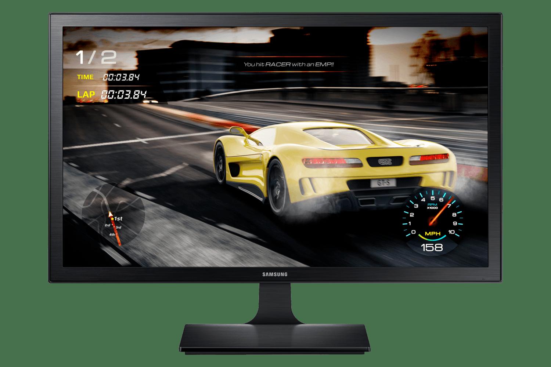 Monitor Gamer Samsung FHD LS27E332, 1ms, HDMI, VGA, Preto, Série SE332