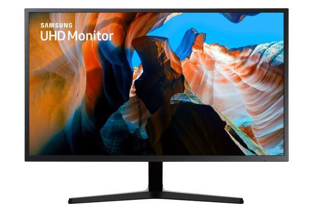 "Monitor UHD Samsung 32"", 4K, HDMI, Display Port, Freesync, Preto, Série UJ590"