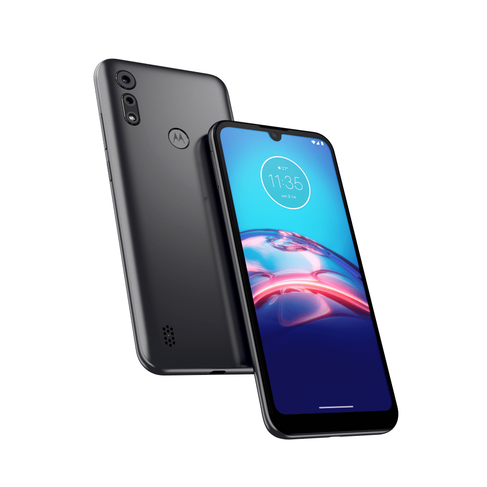 "Smartphone Motorola Moto E6S Tela 6,1"" - Helio P22 Octa-Core - Câm. Dupla 13 MP"