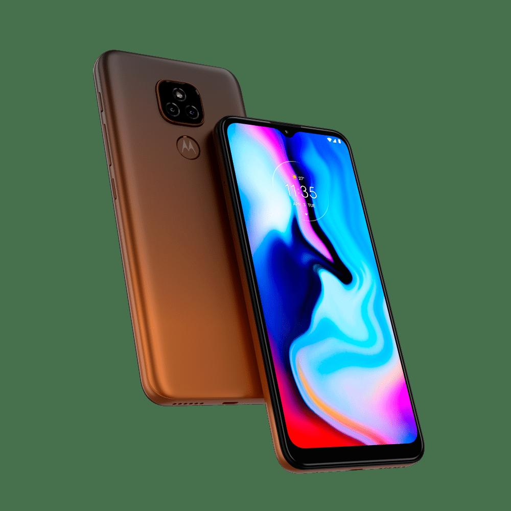 "Smartphone Motorola Moto E7 Plus 64GB Tela 6,5"" - Qualcomm Snapdragon 460 - 4 GB RAM - Câm. Dupla 48 MP"