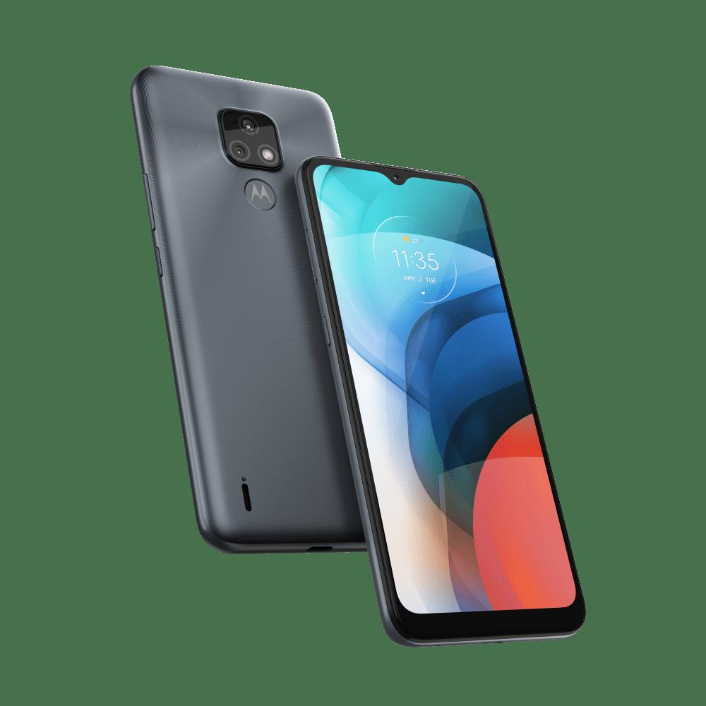 """Smartphone Motorola Moto E7 32GB Tela 6,5"""" - Helio G25 - 2GB RAM - Câm Dupla 48 MP"""