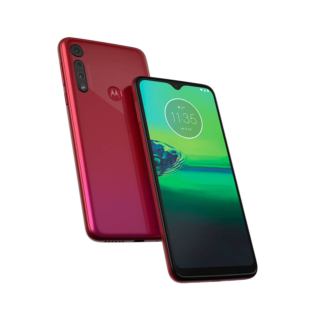 "Smartphone Motorola Moto G8 Play 32GB Tela 6,2"" - Helio P70 M Octa-Core 2 GB RAM Câm. Tripla 13 MP"