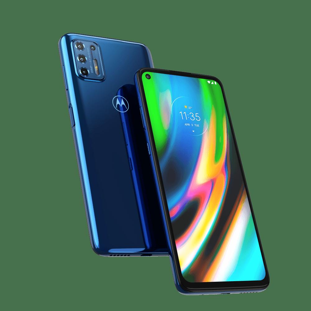 "Smartphone Motorola Moto G9 Plus 128GB Tela 6,8"" - Qualcomm Snapdragon 730G 4GB RAM Câm. Quádrupla 64 MP"