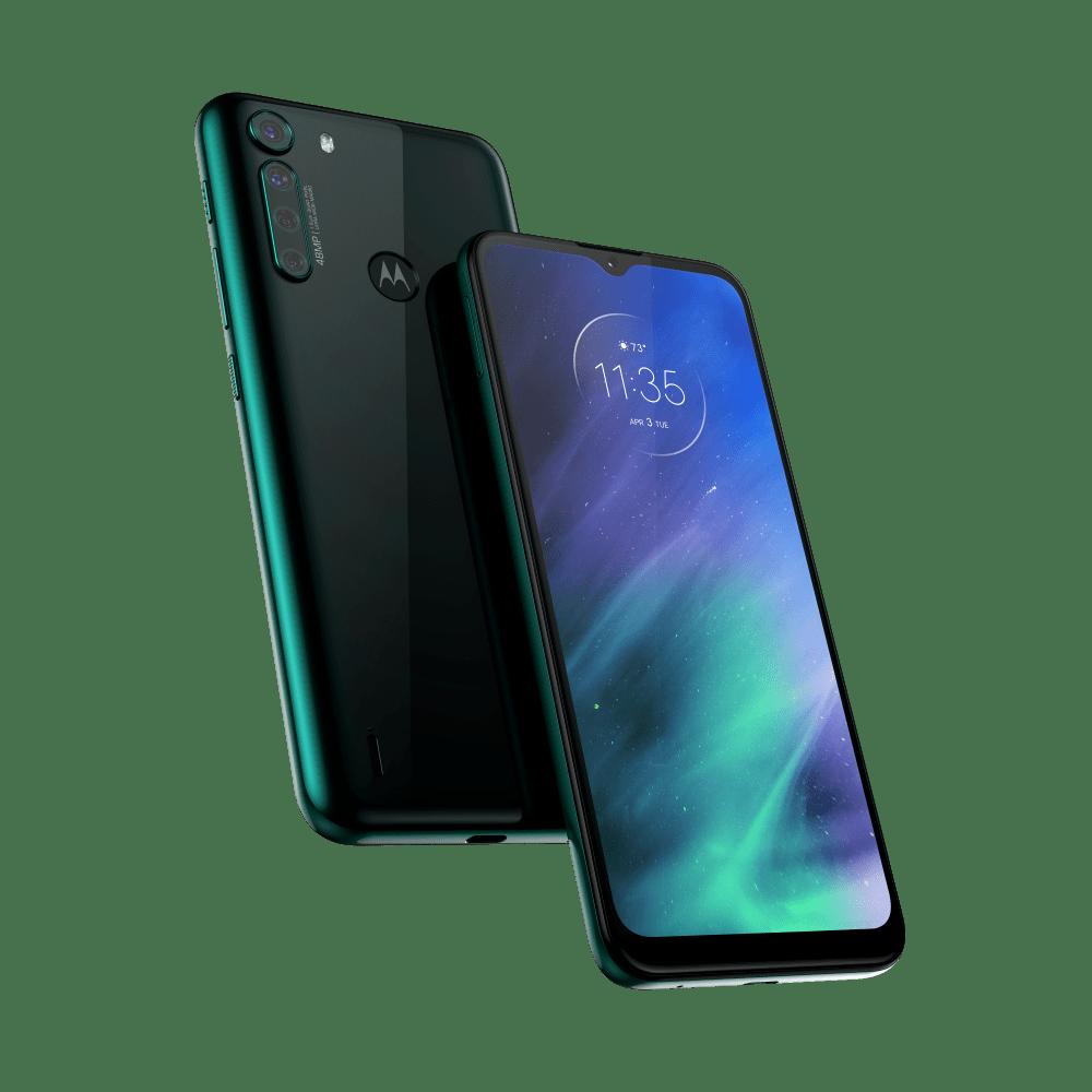 "Smartphone Motorola One Fusion Tela 6,5"" - Qualcomm Snapdragon 710 - Câm. Quádrupla 48 MP"