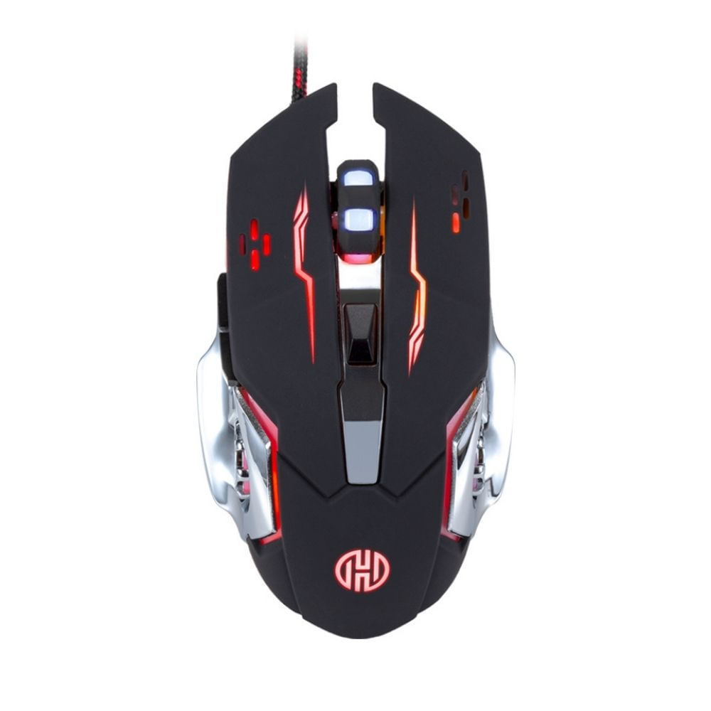 Mouse Gamer Galaxy Hoopson Iluminação RGB GT1100