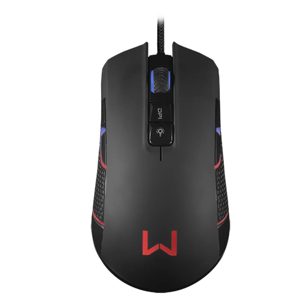 Mouse Gamer Rgb Perseus Preto Warrior - MO275