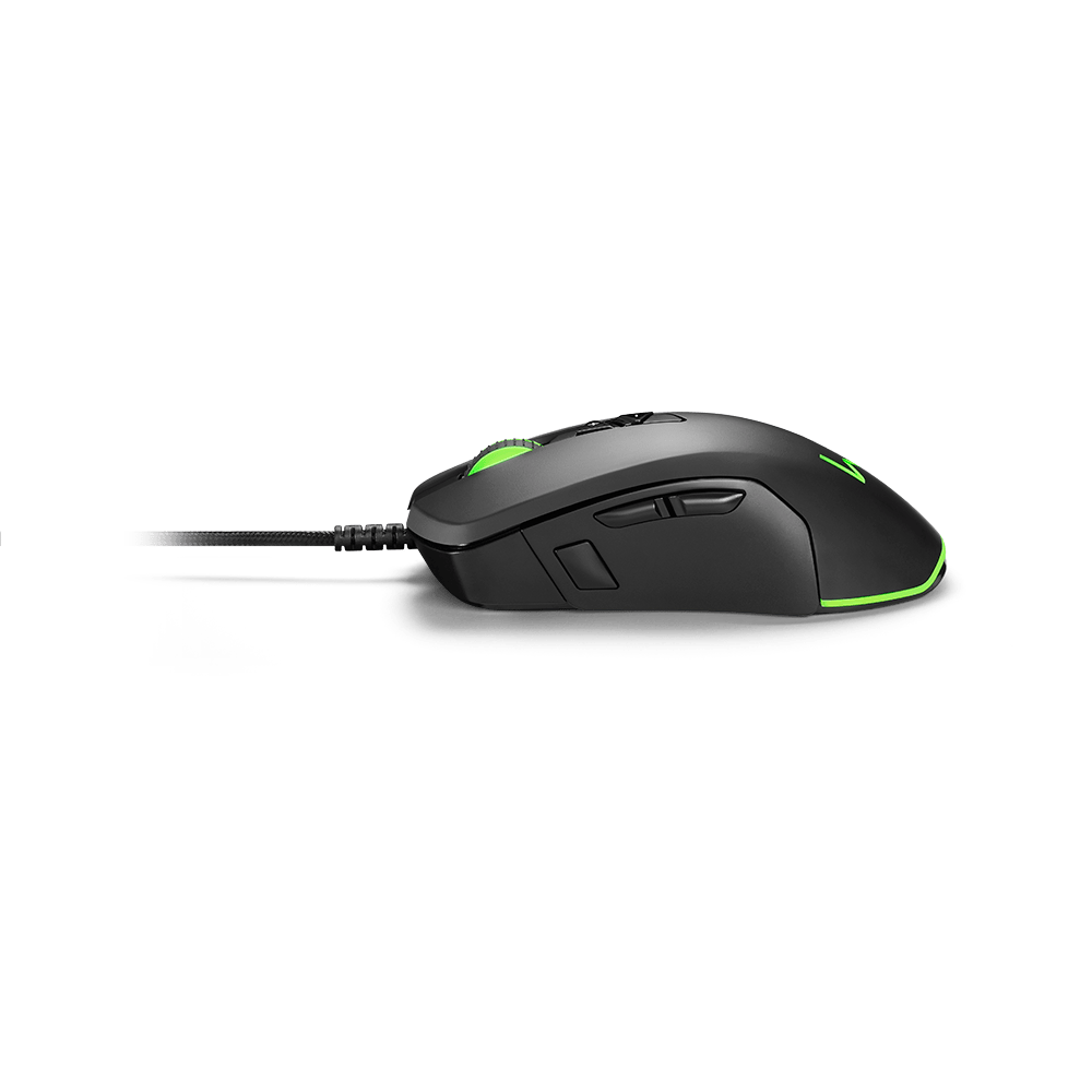 Mouse Gamer Moray 10000DPI Personalizável LED RGB Warrior - MO278
