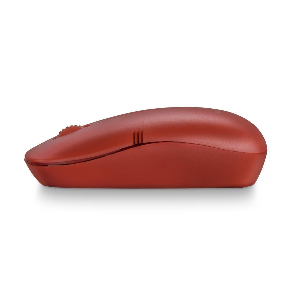 Mouse Sem Fio Lite 2.4GHZ 1200 DPI Usb Vermelho - MO289
