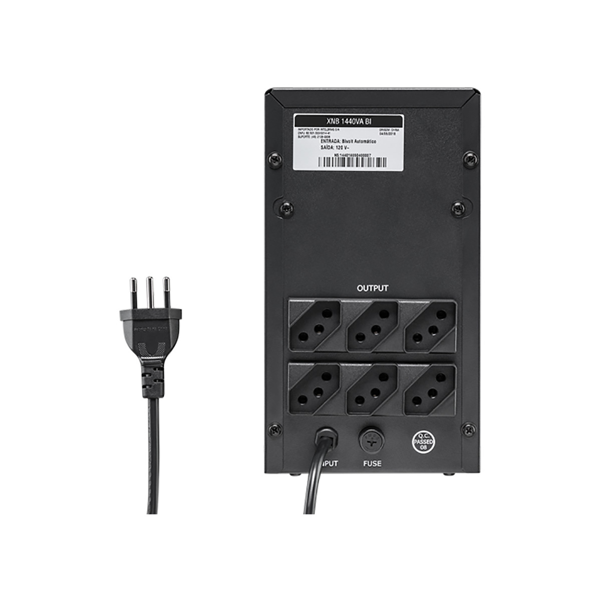 Nobreak Interativo Bivolt Intelbras XNB 1440Va Bi