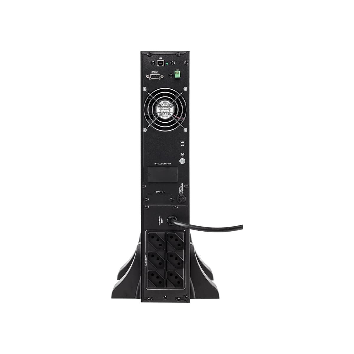Nobreak Online Rack/Torre Intelbras DNB 1.5kVA-220V-RT