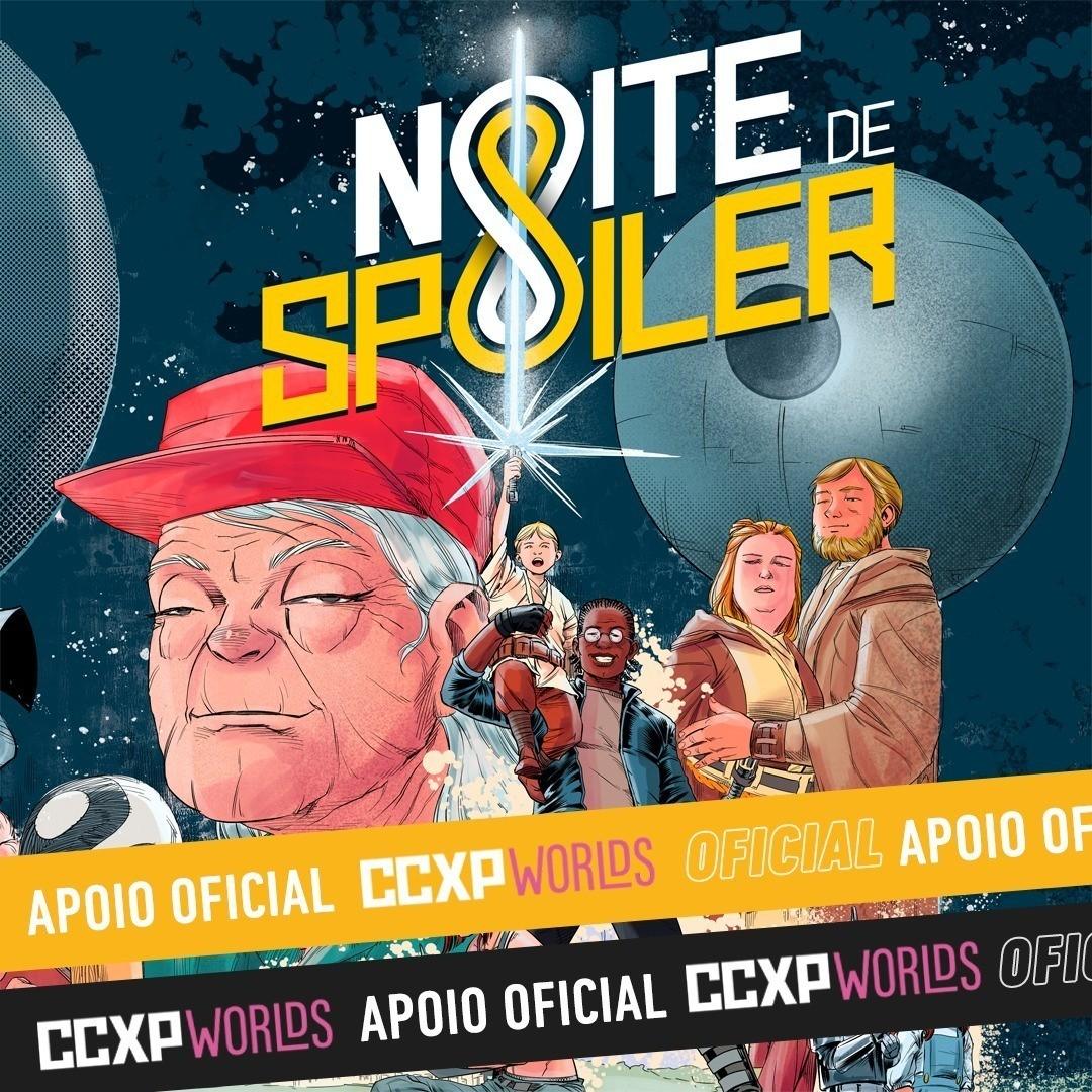 Noite de Spoiler - O  gibi  (não) oficial da CCXP