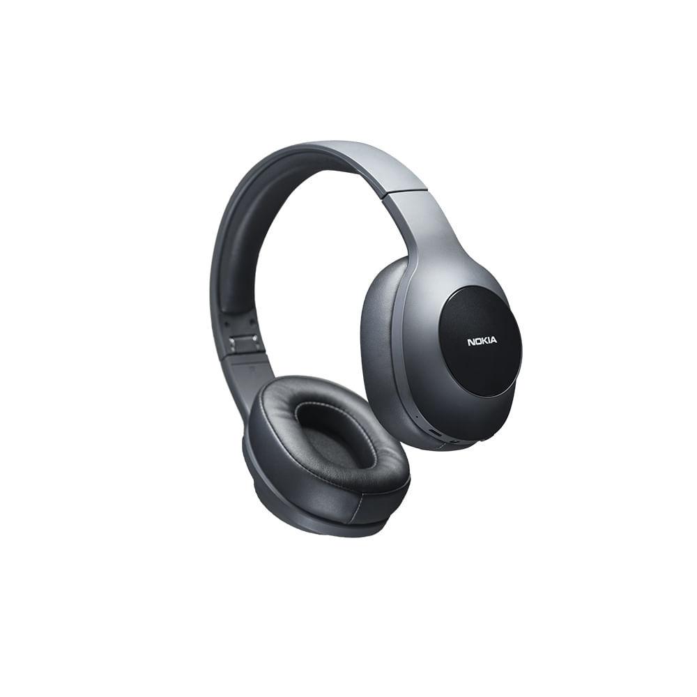 Headphone Essential Wireless Bluetooth 5.0 Nokia Preto - NK019