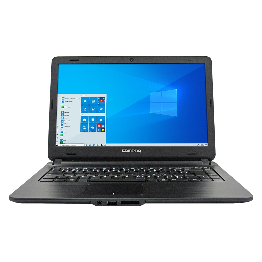 Notebook Compaq Presario CQ31 - Tela 14`` HD, Intel® Celeron 4GB, HD 500GB, Windows 10 - PC802